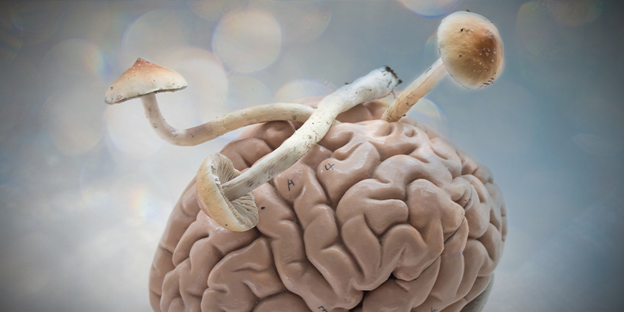 La psilocibina podría ayudar con la depresión resistente al tratamiento